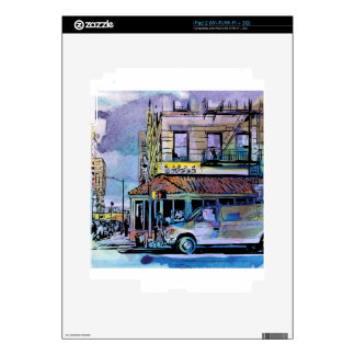 Downtown Small Town Decal For iPad 2