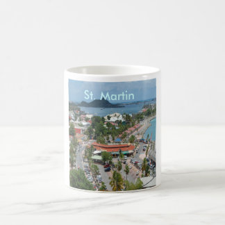 Downtown St. Martin Coffee Mug