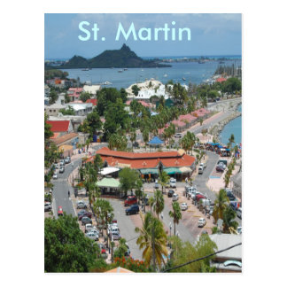 Downtown St. Martin Post Cards