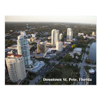 Downtown St. Petersburg, Florida Postcard