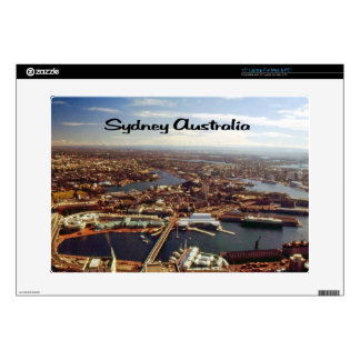 "Downtown Sydney Decal For 15"" Laptop"