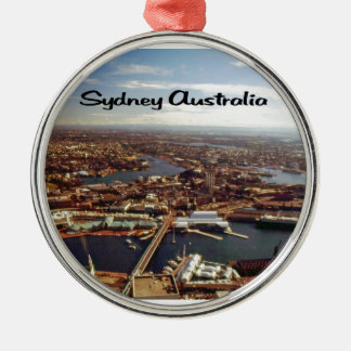 Downtown Sydney Metal Ornament