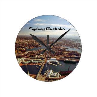 Downtown Sydney Round Clock