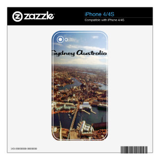 Downtown Sydney Skin For iPhone 4S
