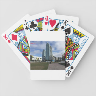Downtown Tampa, FL Stuff! Bicycle Playing Cards