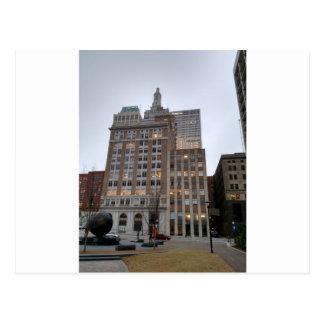 downtown Tulsa Oklahoma Postcard