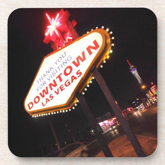 Downtown Vegas Beverage Coaster