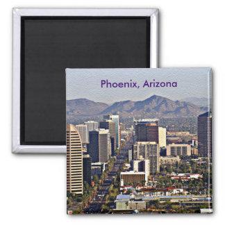 Downtown View of Phoenix, Arizona Magnet