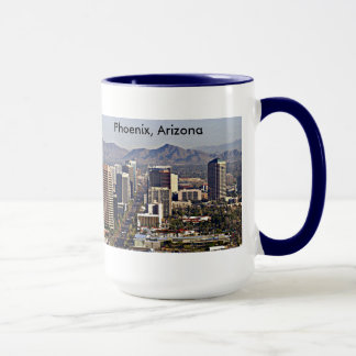 Downtown View of Phoenix, Arizona Mug