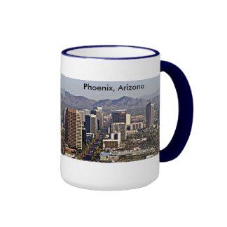 Downtown View of Phoenix, Arizona Ringer Mug
