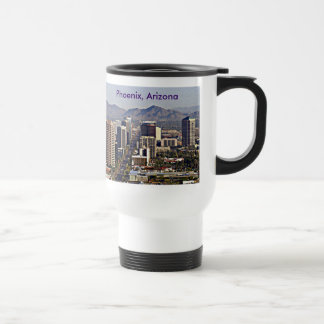 Downtown View of Phoenix, Arizona Travel Mug