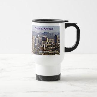 Downtown View of Phoenix, Arizona Travel Mug