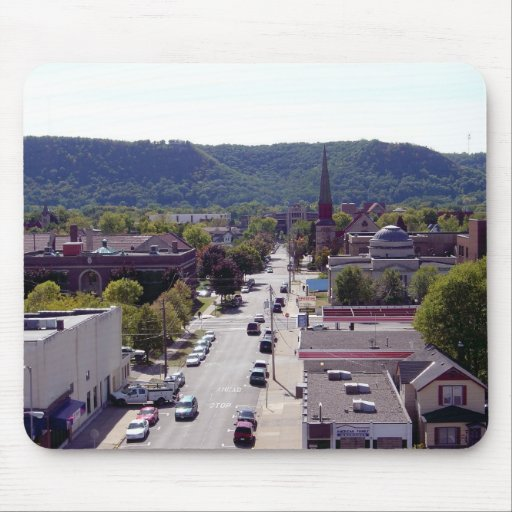 Downtown - Winona, MN Mouse Pad