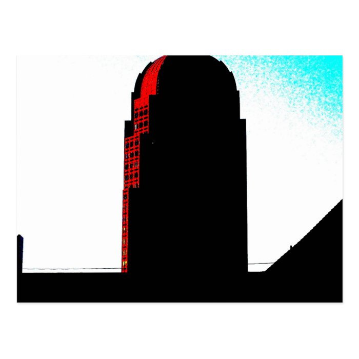 Downtown Winston-Salem, NC Postcard