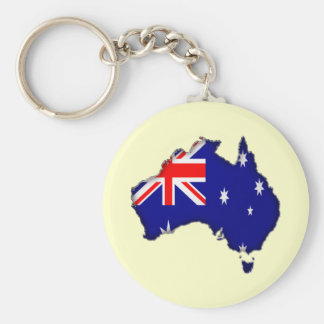 Downunder Day Keychain