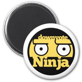 Downvote Ninja 2 Inch Round Magnet