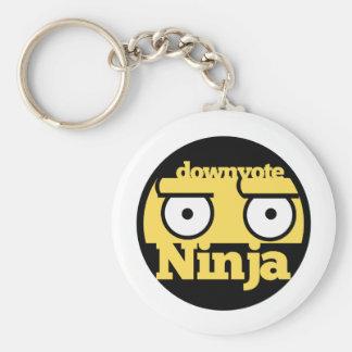 Downvote Ninja Keychain