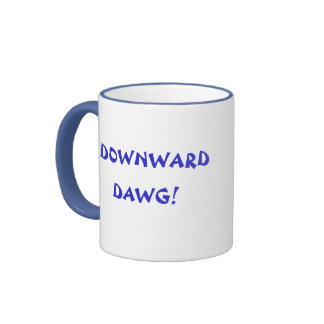 DOWNWARD DAWG mug