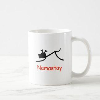 Downward Dog Namastay Coffee Mug