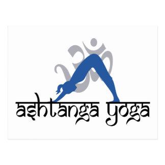 Downward Facing Dog Ashtanga Yoga Post Cards
