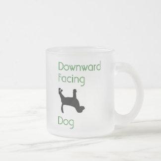 Downward Facing Dog clear Mug 10oz or 16oz