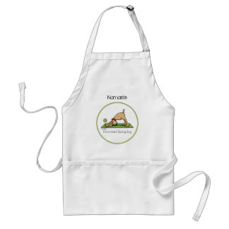 Downward Facing Dog - yoga apron