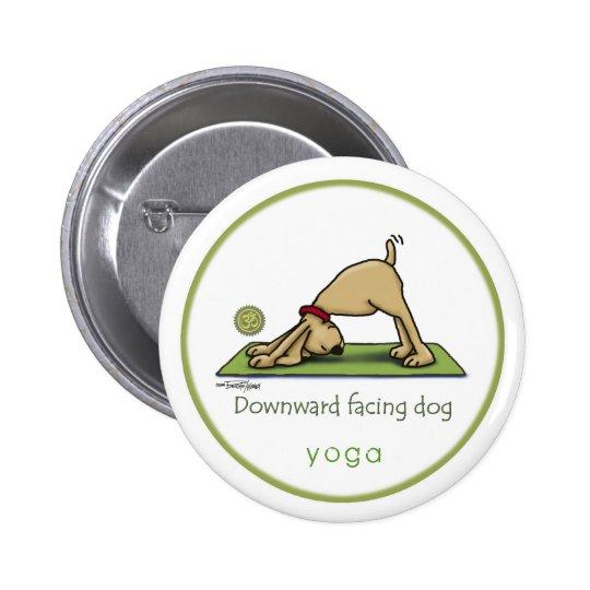 Downward Facing Dog - yoga button
