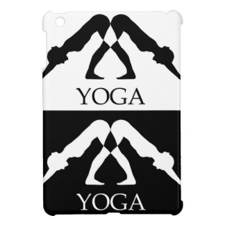 downward facing dog yoga pose iPad mini cases