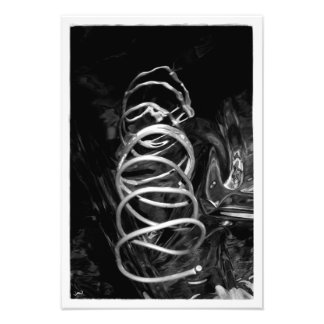 Downward Spiral Photo Print