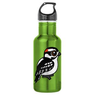 Downy Woodpecker Stainless Steel Water Bottle