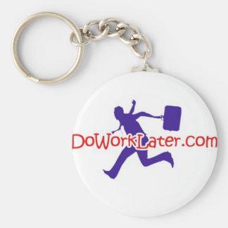 DoWorkLater Key Chain