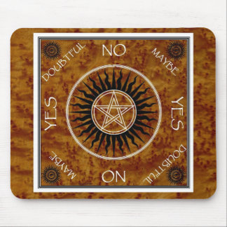Dowsing Pentangle Pentagram Divination Board Mouse Pad