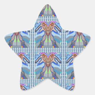 DOWSIRA - La llave dirigió al monstruo del lechón Pegatina En Forma De Estrella