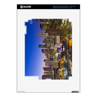 Dowtown Houston Decal For iPad 3
