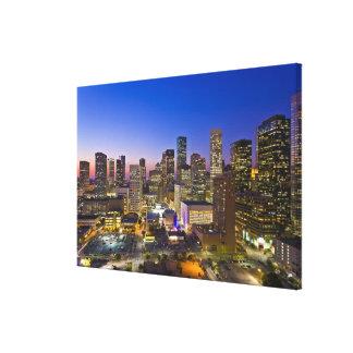Dowtown Houston Impresión En Lienzo
