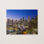 Dowtown Houston Jigsaw Puzzle