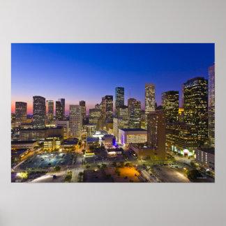 Dowtown Houston Impresiones