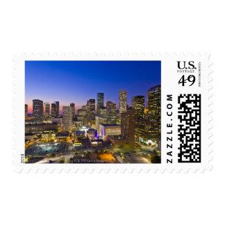 Dowtown Houston Postage