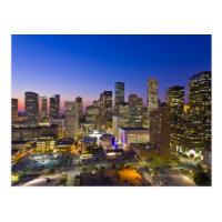 Dowtown Houston Postcard