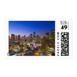 Dowtown Houston Stamp