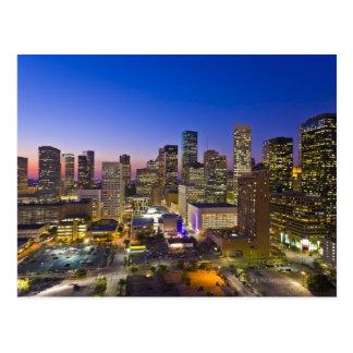 Dowtown Houston Tarjetas Postales