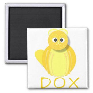 DOX PLAIN FRIDGE MAGNETS