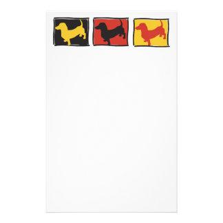 Doxie-3-BOX Customized Stationery