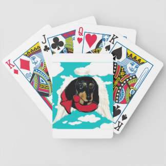 DOXIE ANGEL BICYCLE PLAYING CARDS