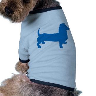Doxie azul, Dachshund Camisetas De Perrito