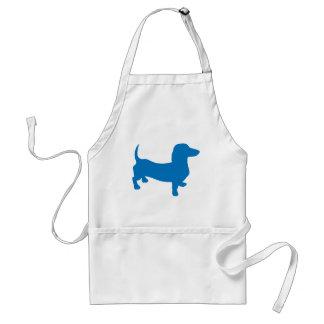 Doxie azul, Dachshund Delantales