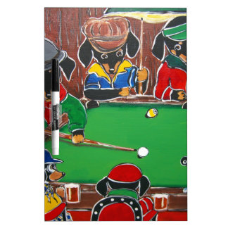 DOXIE BILLIARDS Dry-Erase BOARD