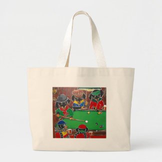 DOXIE BILLIARDS LARGE TOTE BAG