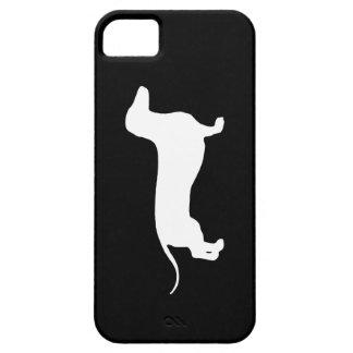 Doxie blanco iPhone 5 fundas