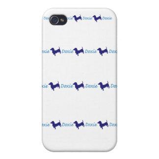 Doxie/Dachshund iPhone 4/4S Funda